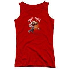 Scott Pilgrim vs The World Scott Poster Junior Tank Top T-shirt