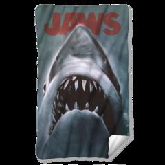 Jaws Shark Fleece Blanket