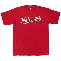 Washington Nationals Majestic MLB Adult Replica T-shirt