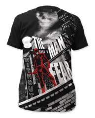 Dare Devil Without Fear Big Print Adult T-shirt