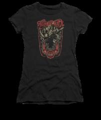 Aerosmith Let Rock Rule Black Short Sleeve Junior T-shirt