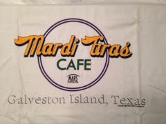 Mardi Gras Cafe Adult T-shirt