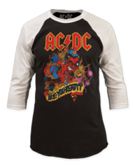 AC/DC Are You Ready Baseball Jersey T-shirt