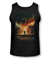 The Hobbit The Battle of the Five Armies Smaug Poster Adult Tank Top T-shirt