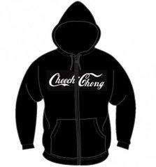 Cheech & Chong Script Logo Zipper Hoodie