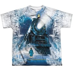 Christmas Polar Express Journey FB Print Youth T-shirt