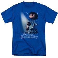 Christmas Little Drummer Boy White Light T-shirt