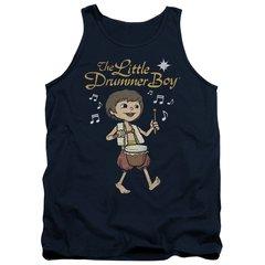 Christmas Little Drummer Boy Starlight Tank Top T-shirt