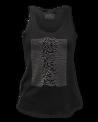 Joy Division Unknown Pleasures Black Women's Tank Top T-shirt