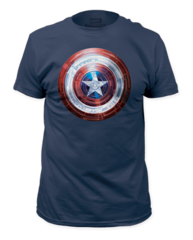 Captain America Winter Shield Adult T-shirt