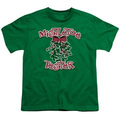 Christmas Mistletoe Tester Youth T-shirt