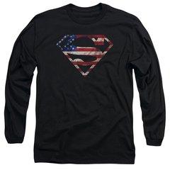 Superman Super Patriot Long Sleeve T-shirt