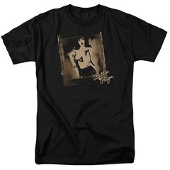 Bettie Page Exposed Black Short Sleeve Adult T-shirt