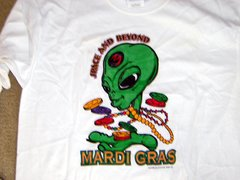 Mardi Gras Space and Beyond Long Sleeve T-shirt