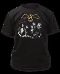 Aerosmith Get Your Wings Black Short Sleeve Adult T-shirt