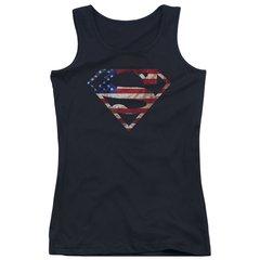 Superman Super Patriot Junior Tank Top T-shirt