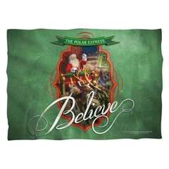 Christmas Polar Express Santa Pillow Case FB Print