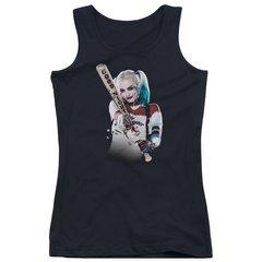 Suicide Squad Bat at You Junior Tank Top T-shirt
