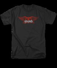 Aerosmith Winged Adult T-shirt