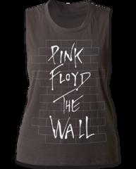 Pink Floyd The Wall Black Sleeveless Women's Tank T-shirt