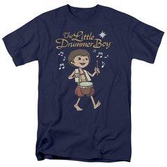 Christmas Little Drummer Boy Starlight T-shirt