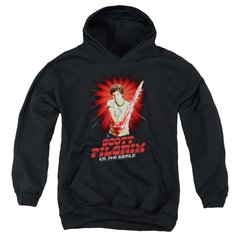 Scott Pilgrim vs The World Super Sword Youth Pull-Over Hoodie