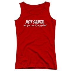 Christmas Not Santa Junior Tank Top T-shirt