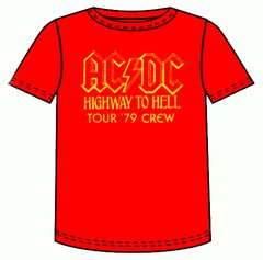 AC/DC Highway to Hell 79 Short Sleeve Adult T-shirt