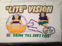 Mardi Gras Lite Vision Adult T-shirt