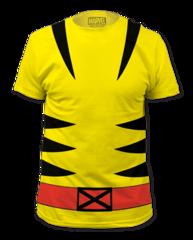 Wolverine Suit Big Print Adult T-shirt