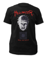 Hellraiser Pinhead and Box T-shirt