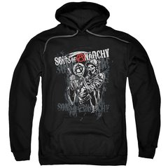 Sons of Anarchy Reaper Logo Pull-Over Hoodie