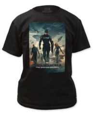 Captain America Winter Solder Poster Adult T-shirt