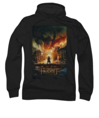 The Hobbit The Battle of the Five Armies Smaug Poster Adult Pull-Over Hoodie