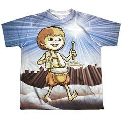 Christmas Little Drummer Boy Guiding Light Youth T-shirt