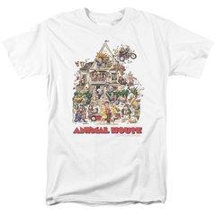 Animal House Poster Art White Short Sleeve Adult T-shirt