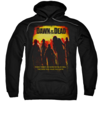 Dawn of the Dead Title Adult Pull-Over Hoodie