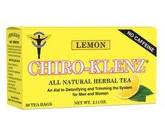Chiro-Klenz All Natural Herbal Tea - Lemon