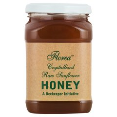 Florea Raw Crystallized Sunflower Honey 500 gms