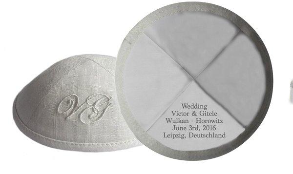 Andalusian Linen Kippahslinen Kippot wedding  linen kippah bar mitzvah  kippahs cotton  . Kippahs For Wedding. Home Design Ideas