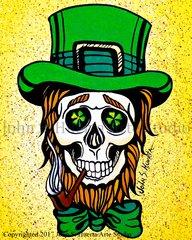 St Patrick Skull