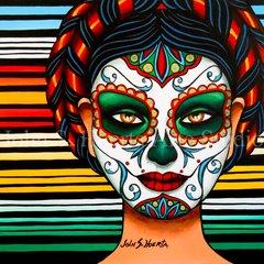"""Carmen"" 12x12 digital print"