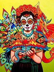 Carmen Y Abebrijies 5x7 art greeting card