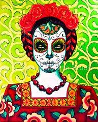 Carmen Maria 5x7 art greeting cards