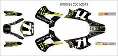 Kawasaki KX80/85/100 2001-2013 LEMEK Grafix