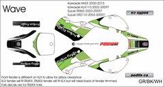 Kawasaki KX65 2000-2015 Wave Grafix