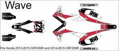 Honda 2013-15 CRF450R/ 2014-15 CRF250R WAVE Grafix