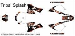 KTM 50JR 2002-2008 50SR 2001-2008 Tribal Splash Grafix