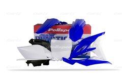 Polisport Yamaha YZF250 2-10-2013 Complete Plastic Kit 2011-12 OEM Colour