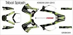 Kawasaki KX80/85/100 2001-2013 Tribal Splash Grafix